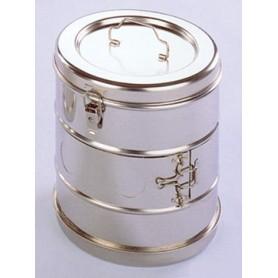 Casoletă pentru sterilizare diam. 125 x 125 (înalț.) mm