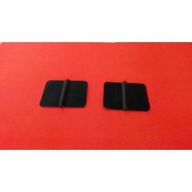 Electrozi TENS din cauciuc 40 x 40 mm, perechi