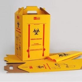 Cutii carton ptr. deseuri medicale, 20 l