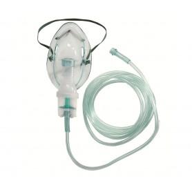 Set pentru nebulizatoare (masca adulti si copii, tub legatura, recipient)