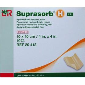 Pansament cu hidrocoloid  Suprasorb H thin,10x10 cm (10 buc./pach.)