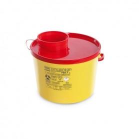 Cutie plastic pentru deseuri taioase (ace de injectie) 7 L