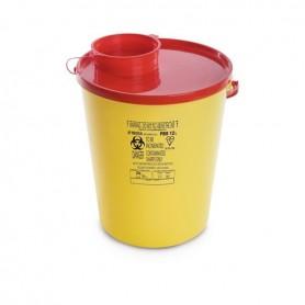 Cutie plastic pentru deseuri taioase (ace de injectie) 12 L