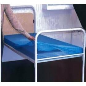 Cearsaf nylon cu elastic pentru protectia saltelei