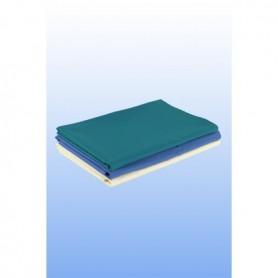 Cearceaf din material textil, 150 X 230 cm, albastru