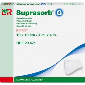 Pansament steril cu hidrogel, Suprasorb G, 10 x10 cm, 5 buc/cut