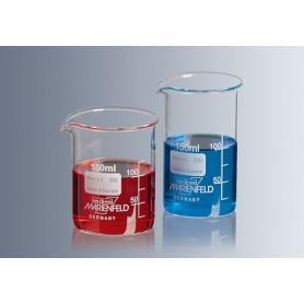 Pahar sticla termorezistent, gradat 100 ml
