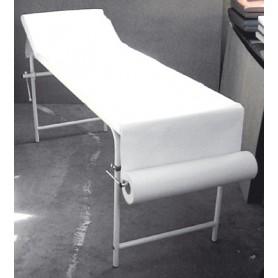 Cearșaf hârtie în role pentru canapeaua de consultație, 2 straturi Dimensiuni: 39 cm X 100 m
