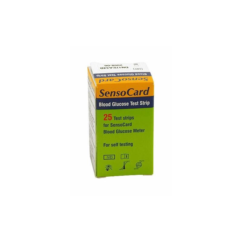 Teste glicemie Sensocard, 25 buc /cut