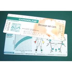 Riglă ECG