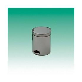 Coș de gunoi cu pedală oțel inoxidabil, 5 l