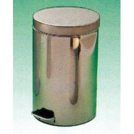 Coș de gunoi cu pedală oțel inoxidabil, 14 l